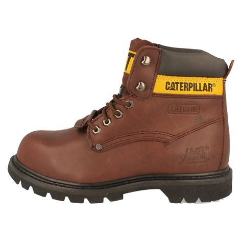 Caterpilar Boots Safety mens caterpillar steel toe safety work boots the style
