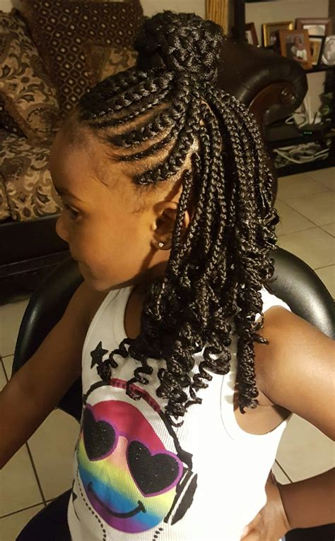 box braids with bang in back single box braid in back with cornrows box braids