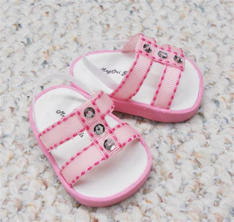 American Handmade Shoes - american 18 doll shoes sandals handmade pink