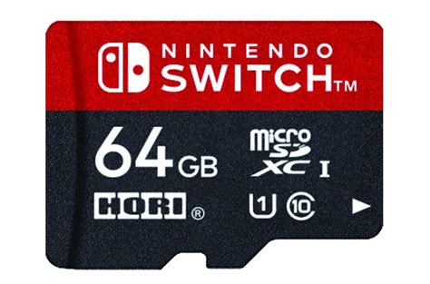 Hori Microsd Card For Nintendo Switch 32gb Hori Coming Out With Switch Branded 64gb Microsd Card In