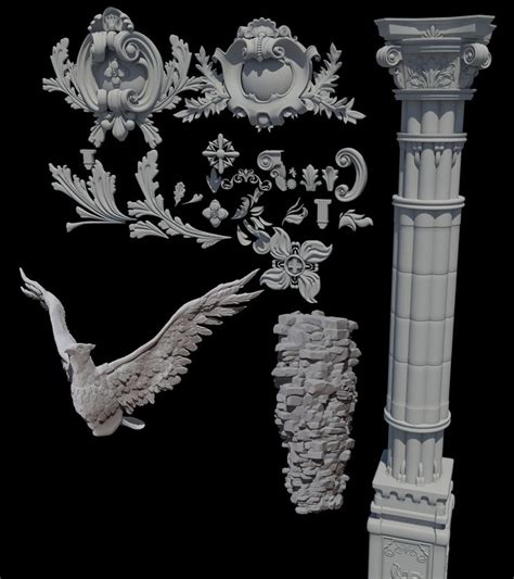 zbrush tutorial architecture 194 best zbrush images on pinterest