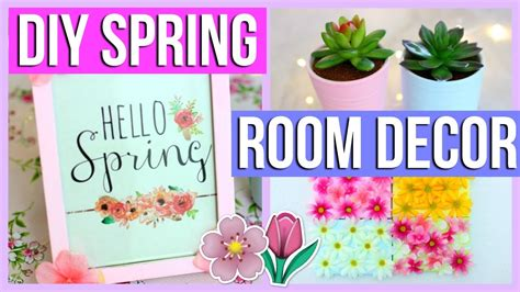 spring decor 2017 diy spring room decor alyssa ruby on diy easy cheap spring