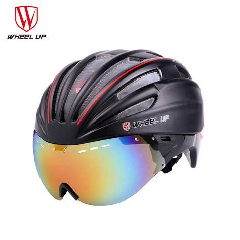 mountain bike helmet light wheel up new integrally aerodynamic eps lens cycling