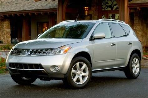 2007 nissan murano specs 2007 nissan murano type specs view manufacturer details