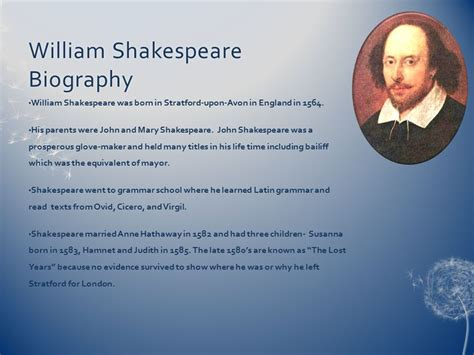 shakespeare biography for students a midsummer night s dream ppt video online download