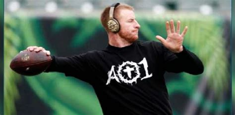 pe news nfl quarterback carson wentz an audience of one
