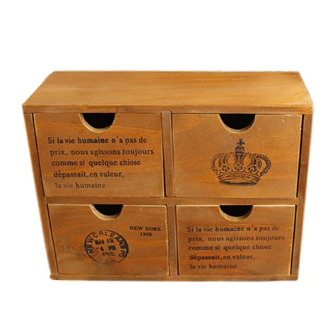 Retro Wooden Box With Drawer Phone buy wholesale medicine cabinet designs from china