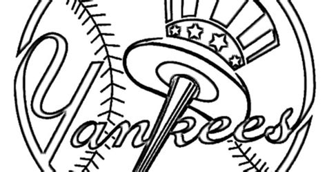yankees coloring pages printable new york yankees baseball logo coloring pages coloring pages