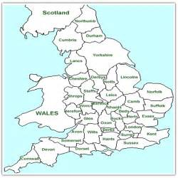 Britain Counties Outline Map by Useful Maps Of Wales Isle Of Jersey Island Leeds And Manchester