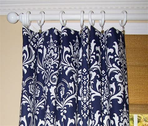blue damask curtains navy blue damask curtains premier fabric collection two