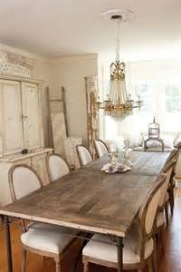 Chic Dining Rooms Les 25 Meilleures Id 233 Es Concernant Salle 192 Manger Shabby Chic Sur Entr 233 E Shabby Chic