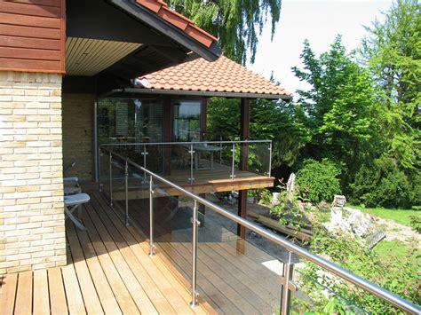 geländer terrasse glas indretning altan decks