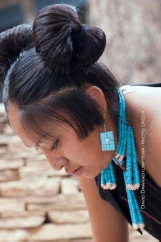 navajo woman hair do 1000 images about hopi squash blossom whorls on pinterest