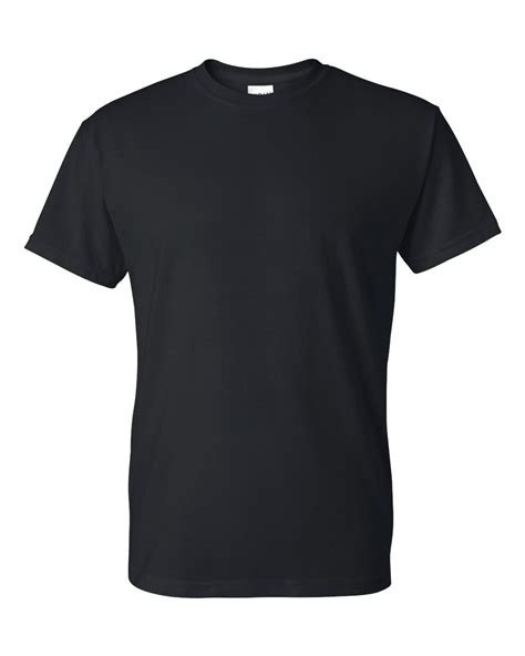 Gildan Dryblend 50 50 T Shirt 8000 Fluid Signs Apparel Gildan Black T Shirt Template