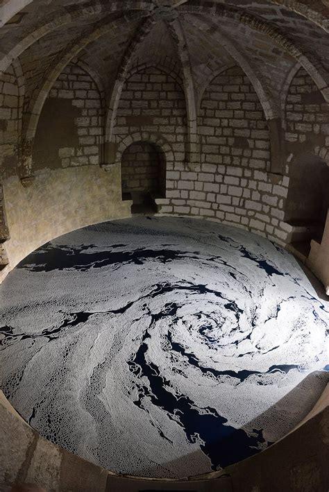 motoi yamamoto meticulously sculpts salt labyrinths