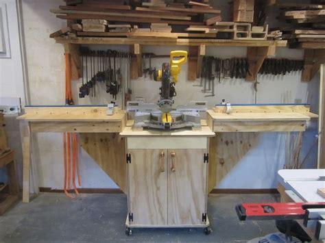 woodworking miter saw mobile miter saw station by blackie lumberjocks