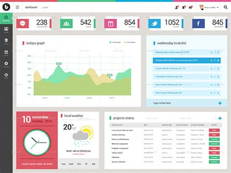 dashboard template design 25 amazing dashboard designs that will inspire you free