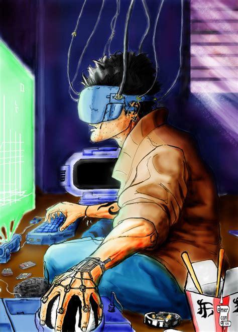 film hacker anime cyberpunk hacker by mercikos on deviantart