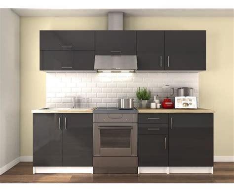 cuisine compl鑼e meuble de cuisine gris laqu 233 20170908113707 tiawuk com