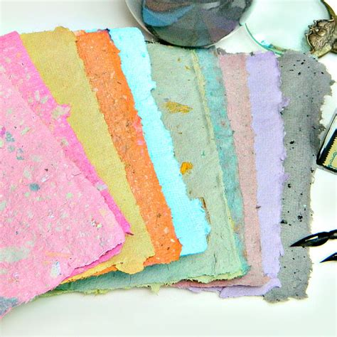 How To Make Recycled Paper For - how to make paper