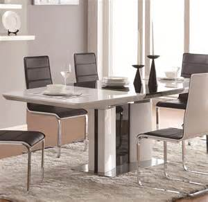 modern dining room table set modern dining table co41 modern dining