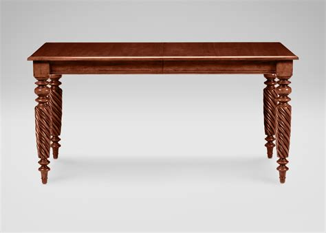 ethan allen dining room table livingston dining table ethan allen