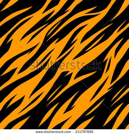 tiger pattern hd abstract print animal seamless pattern zebra stock vector