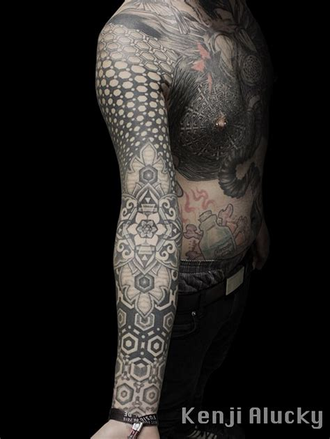 geometry tattoo artist kenji alucky sacred geometry tattoos