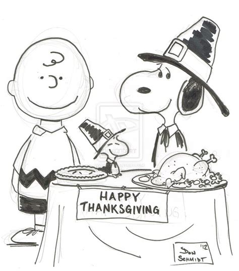 2012 11 21 dsc peanuts thanksgiving by bujinkomix on