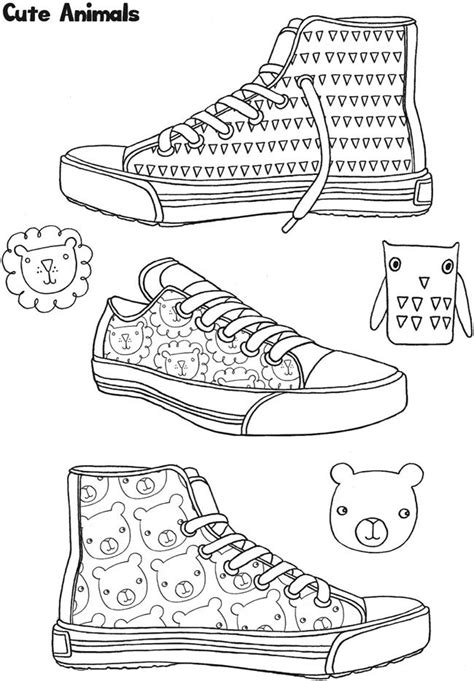 the sneaker coloring book 84 the sneaker coloring book to print