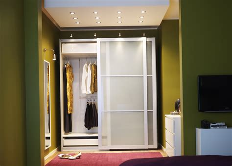 ikea wardrobe closet sliding door home design ideas