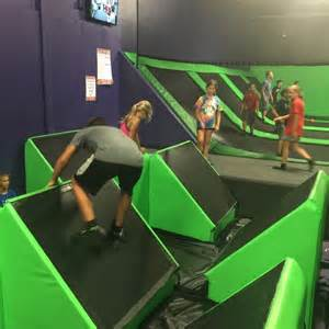 Fun way to get exercise at get air trampoline park adventure mom