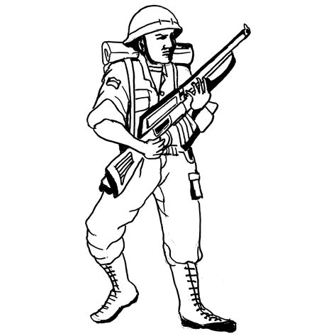 machine gun coloring pages coloring pages