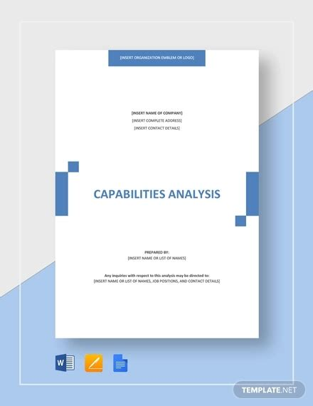 capabilities analysis template 34 analysis templates word pdf free premium templates