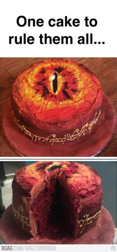 One Ring To Rule Them All Meme - epic lord of the rings meme birthday cake i am so going