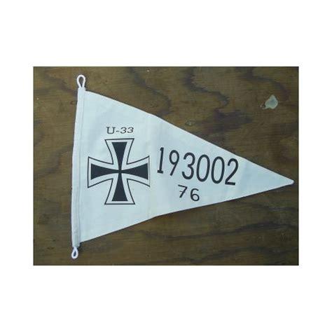 u boat relics german imperial ww1 u boat submarine u 33 pennant relics