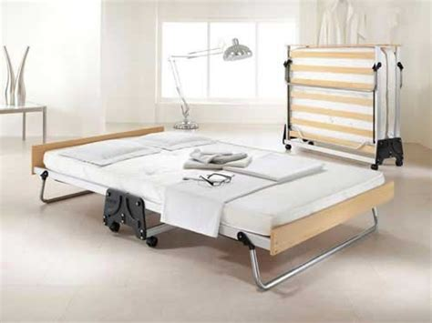 j bed folding guest bed with performance airflow mattress small size 4ft