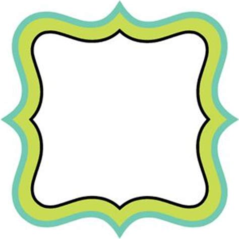 Fnd Labels Greeny 37 best images about borders ornette silhouette special outline tags notepad and labels on