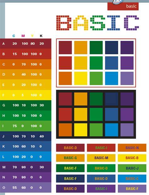 website colour combination web color pallets basic color schemes color combinations color palettes color