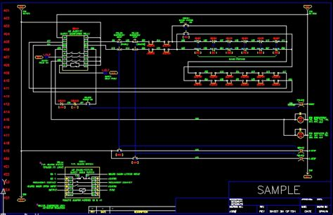 electrical templates for autocad electrical drawing cad template readingrat net