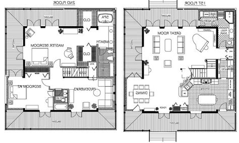 Custom Floor Plans For Homes by Custom House Floor Plans Modern House