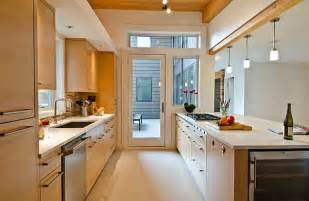 Modern Galley Kitchen Ideas Ideas For Galley Apartment Small Kitchen Home Design And