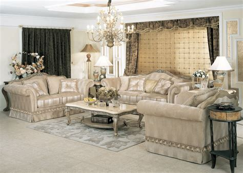 luxurious living room furniture sofa sets