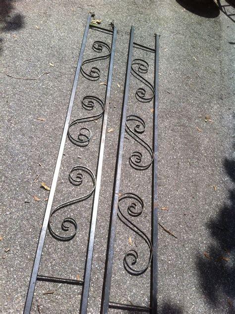 Decorative Metal Porch Posts by Vintage Metal Porch Railing Post Decorative Garden