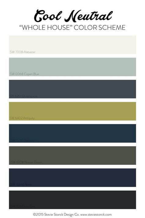 color schemes with navy why i m using a quot whole house color scheme quot house color