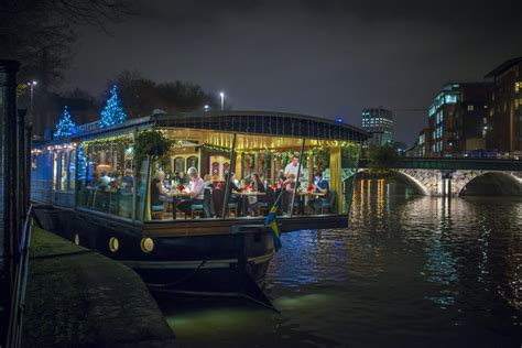 glassboat brasserie bristol christmas party venues
