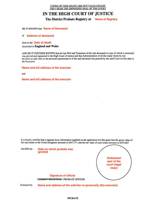 Wills Records How To Probate In Virginia 2009 Gt Gt 19 Great Probate Valuation Letter Template Images
