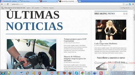 Web Imágenes Noticias Videos | creando una p 225 gina de noticias con joomla 161 ya lista y
