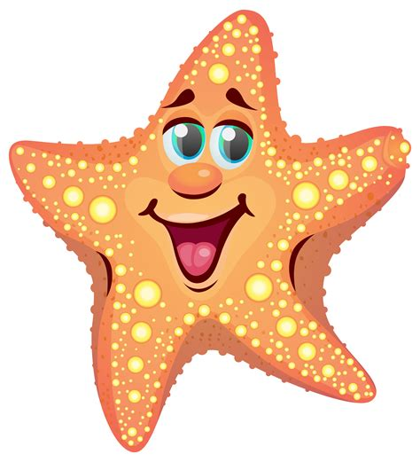 cartoon png cartoon starfish png clipart image gallery yopriceville