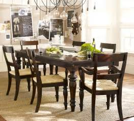 Barn Dining Room Table pottery barn montego turned leg dining table copy cat chic